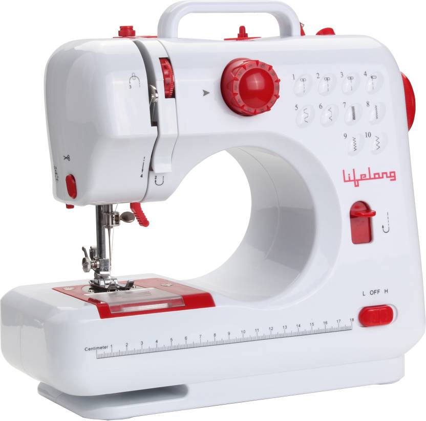 Lifelong HomeStyle Electric Sewing Machine Price In India Buy Extraordinary Sewing Machine Price Flipkart