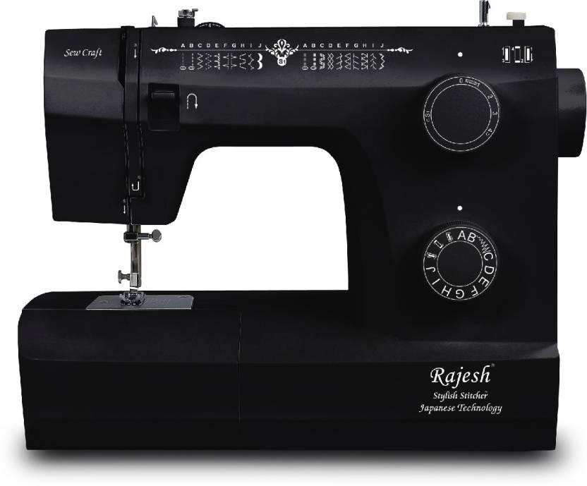 Rajesh Sew Craft 440C40 Electric Sewing Machine Price In India Mesmerizing Sewing Machine Price Flipkart
