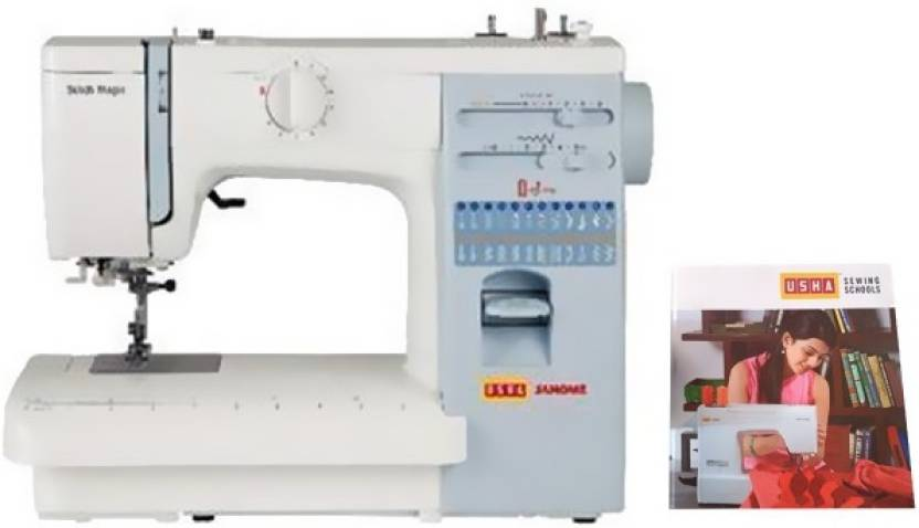 Usha Stitch Magic Electric Sewing Machine Price In India Buy Usha New Sewing Machine Price Flipkart