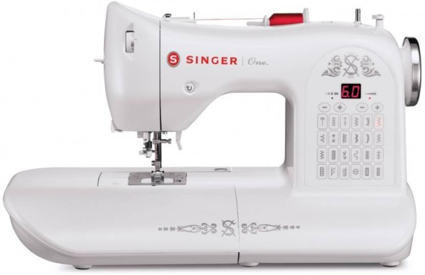 Singer One Embroidery Sewing Machine Price In India Buy Singer One