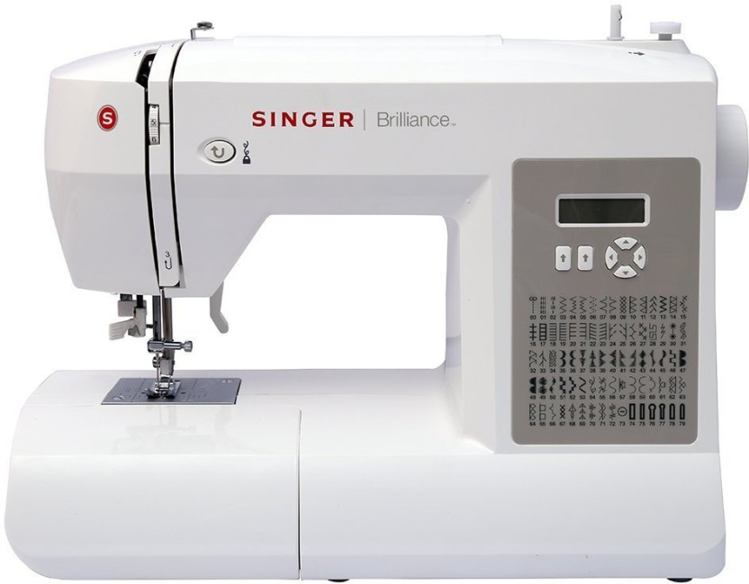 SINGER ~ Brilliance 6180 ~ Portable Sewing Machine ~ Electric ~Used as a Display