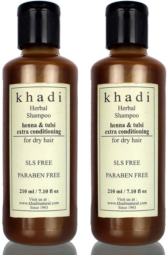 Khadi Herbal Henna And Tulsi Extra Conditioning Sls And Parabens