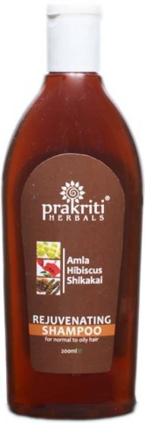 Prakriti Herbals Rejuvenating Amla Hibiscus Shikakai Shampoo