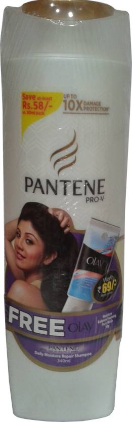 Pantene Total Damage Care Shampoo with Face Wash