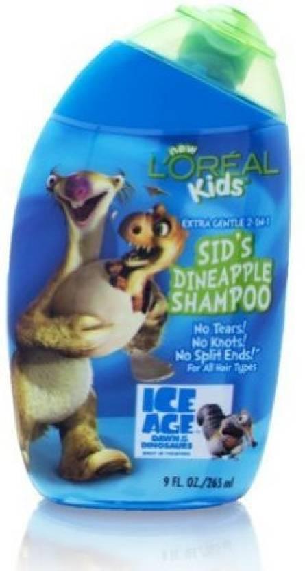 L'Oreal Kids Ice Age Sids Dineapple Shampoo Extra Gentle 2