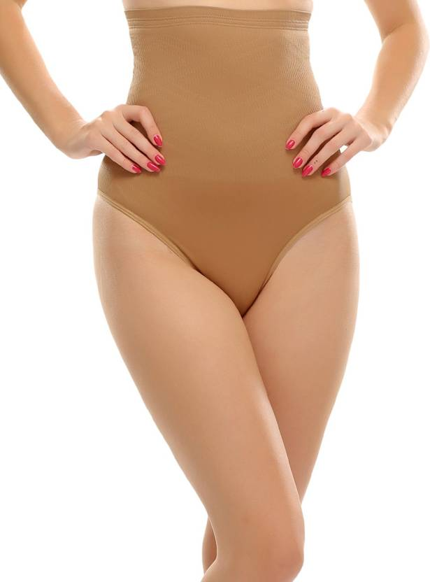 1ce491d075f09 Clovia High Waist Tummy Control Panty In Nude Women s Shapewear - Buy Beige  Clovia High Waist Tummy Control Panty In Nude Women s Shapewear Online at  Best ...