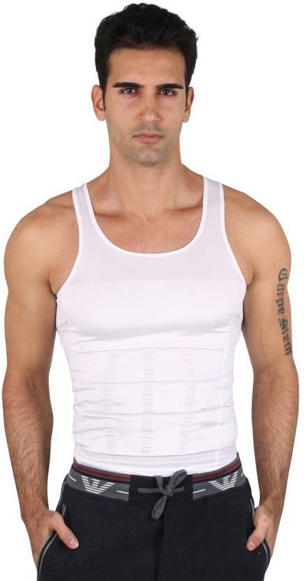 f62f471572 Trendzino Men s Shapewear - Buy White Trendzino Men s Shapewear Online at  Best Prices in India