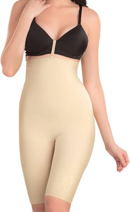 c9987f0cf0a75 Swee Spark High Waist Full Thigh Women's Shapewear - Buy Nude Swee Spark  High Waist Full Thigh Women's Shapewear Online at Best Prices in India    Flipkart. ...