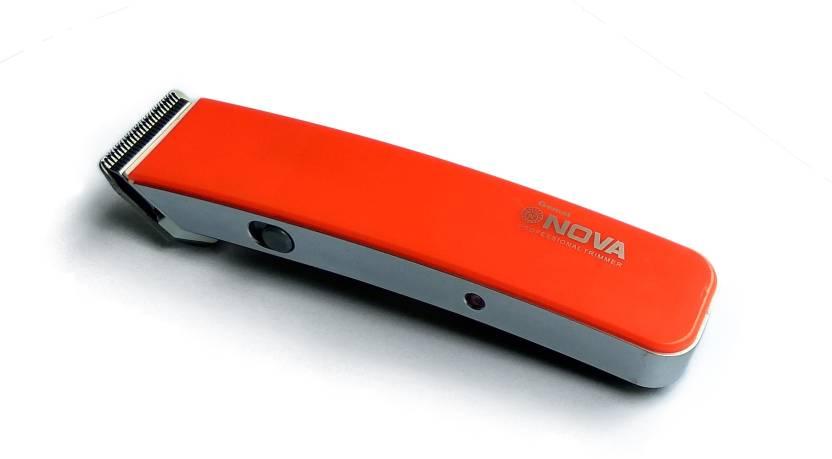 Gemei Nova NS216 Dark Orange Magic Blade Professional Hair Clippe...