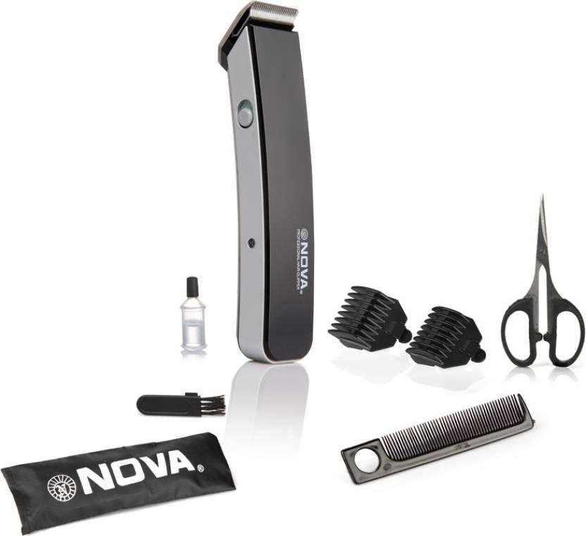 Nova NHT 1047 Pro Skin Advance Trimmer (Black) By Flipakart @ Rs.325