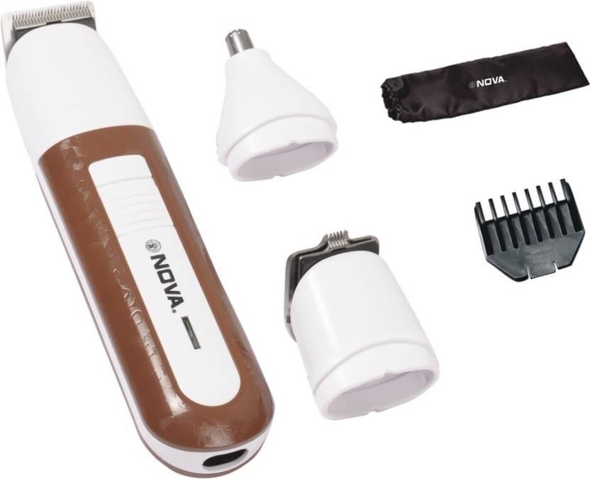 Nova NG 1085 3 In 1 Multi- Grooming Kit Cordless Trimmer for Men