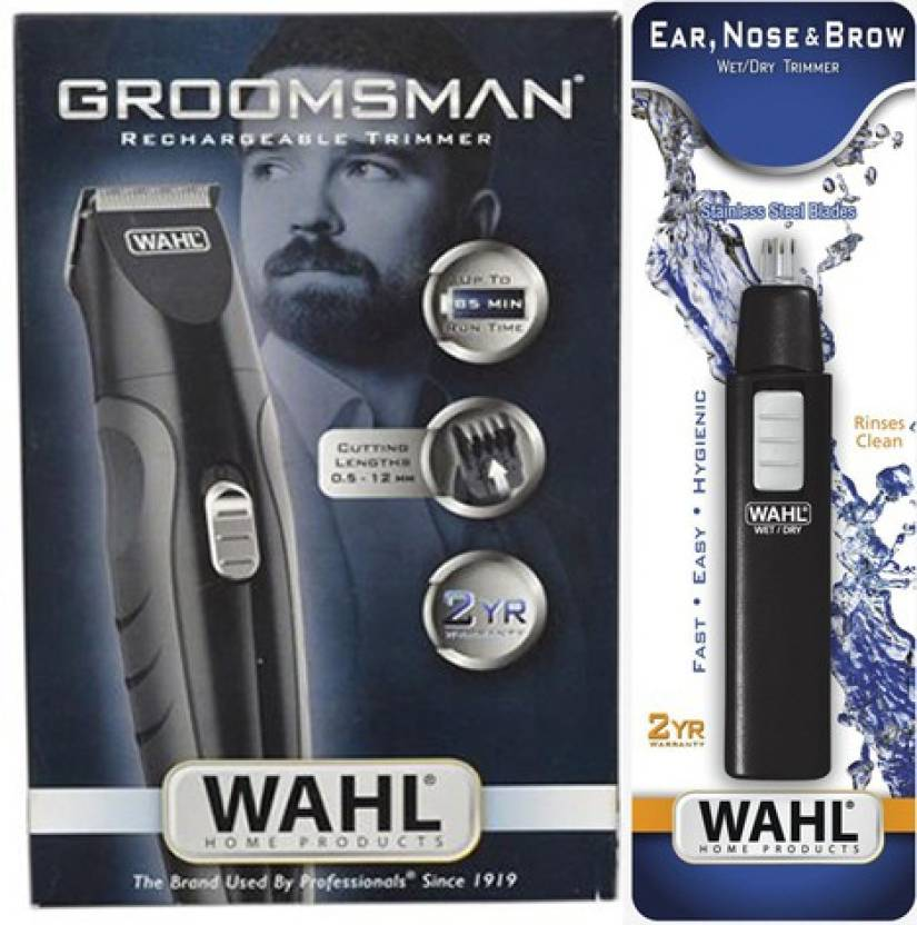 Wahl 09685-024 - 05567-324 Groomsman Rechargeable Trimmer With Ea...