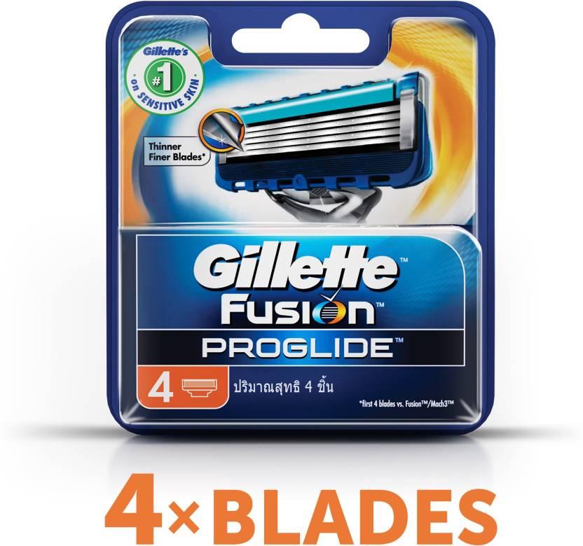 Gillette Fusion Proglide - Price in India, Buy Gillette Fusion Proglide Online In India, Reviews ...