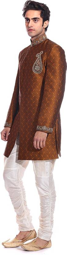TAG-7 Star Embroidered Sherwani