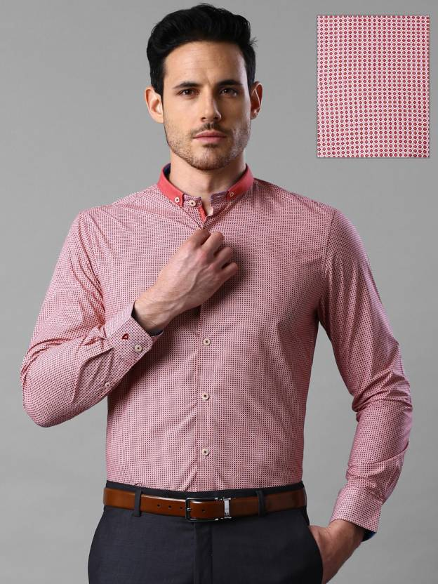 8fc48407 Invictus Men's Printed Formal Red Shirt - Buy Red Invictus Men's Printed  Formal Red Shirt Online at Best Prices in India | Flipkart.com