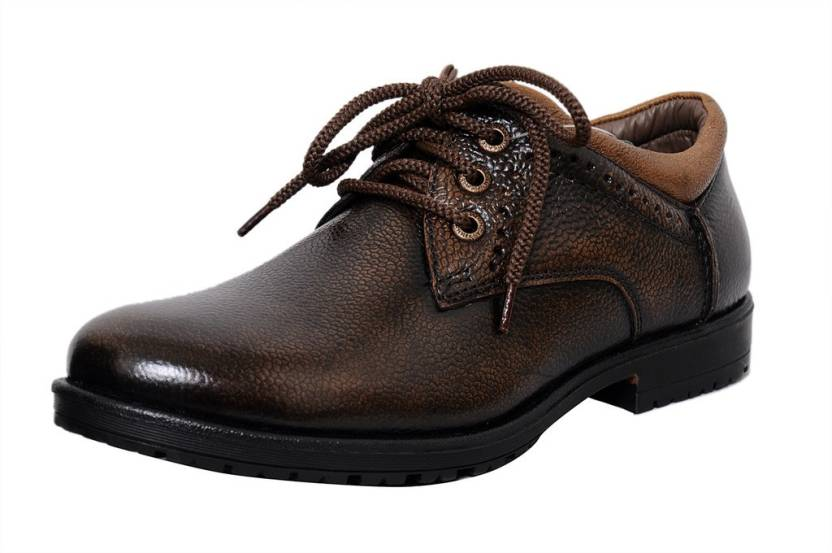 zoom zoom s leather formal shoes d 3561 brown 10