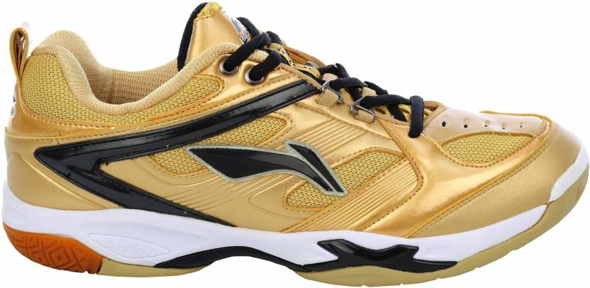 a2b68157f Li-Ning Champion Badminton Shoes For Men - Buy Gold