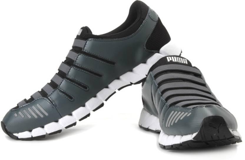 the latest fa179 8ab13 Puma Osu V3 Nm Running shoes For Men (Black, Grey)