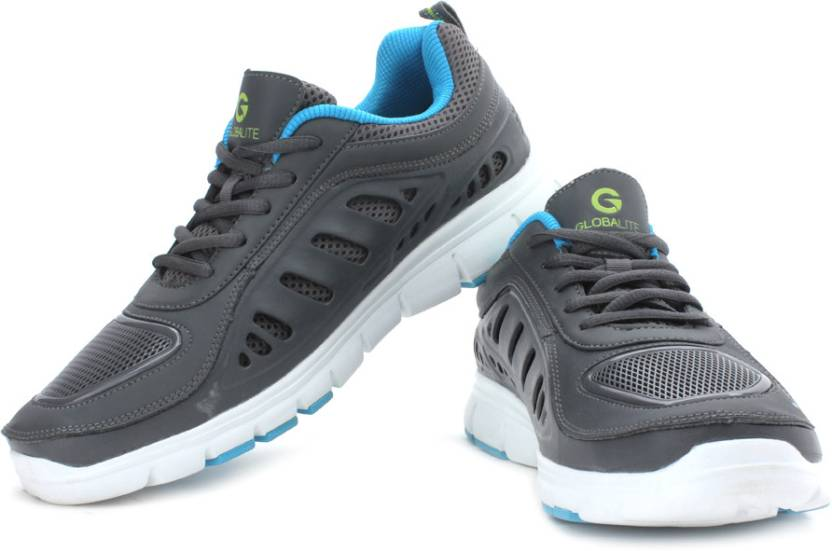 d0c402a71 Globalite In Sport Running Shoes For Men - Buy Grey Color Globalite ...