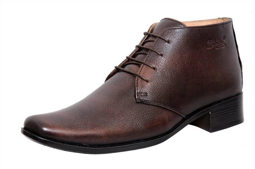 06f6637f450e2 Zoom Zoom Men s Pure Leather Formal Shoes G-71-Brown-8 Lace Up For Men ( Brown)