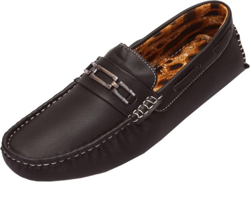 a3a476ab891 Shoebook Men S Casual Black Driving Shoes For Men - Buy Black Color ...