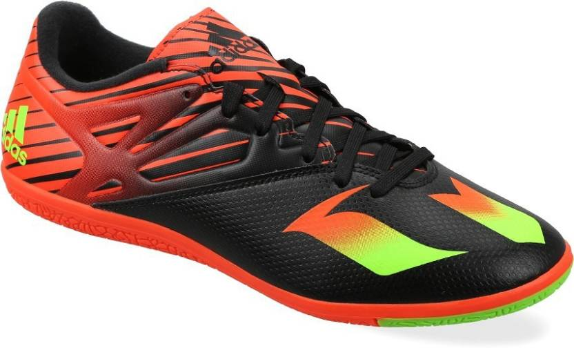 b78c44781764 ADIDAS MESSI 15.3 IN Men Football Shoes For Men - Buy CBLACK/SGREEN ...