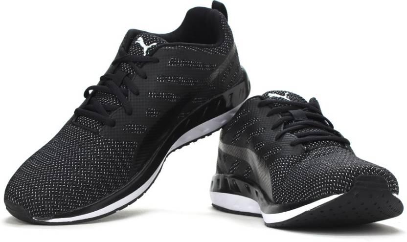 4a6a76623649 Puma Flare Metal Running Shoes For Men - Buy Puma Black-Puma White ...
