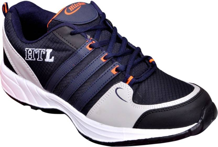 98cd47b75f36 Hitcolus Navy Blue   Orange Running Shoes For Men - Buy Blue Color ...
