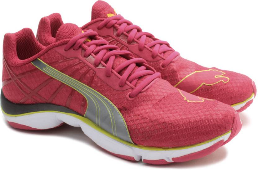 5a071712 Puma Mobium Elite V2 Running Shoes For Women (White, Silver, Pink, Green)