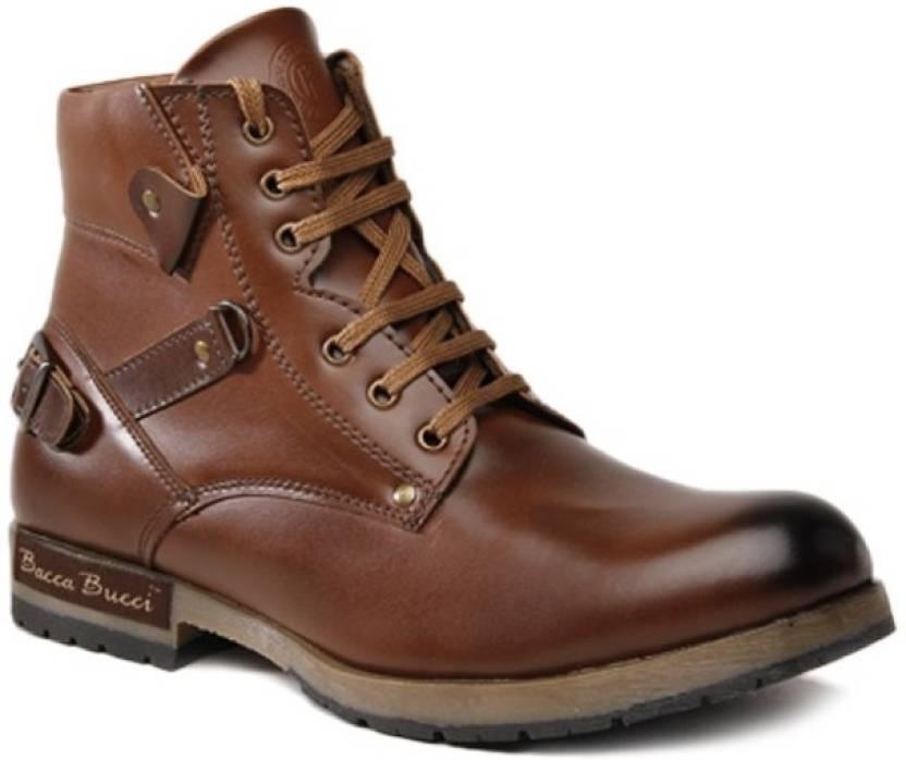 3d85d91399f Bacca Bucci Tan Boots For Men
