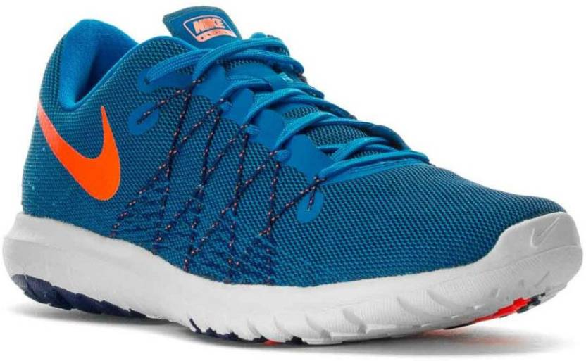 16ebcc38b5fde Nike FLEX FURY 2 Running Shoes For Men - Buy PHT BL TTL ORNG-DP RYL ...