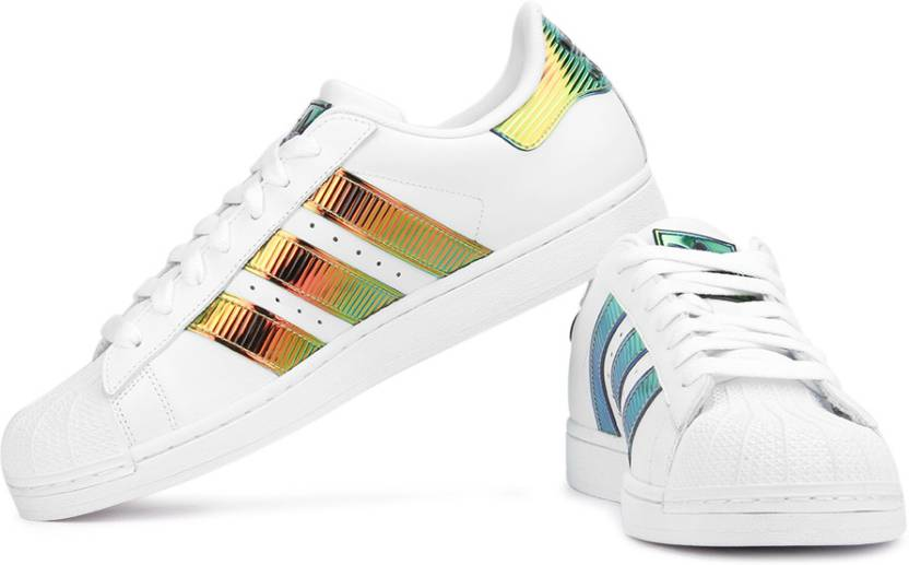 Adidas originali superstar bling xl scarpe da ginnastica per gli uomini comprano bianco