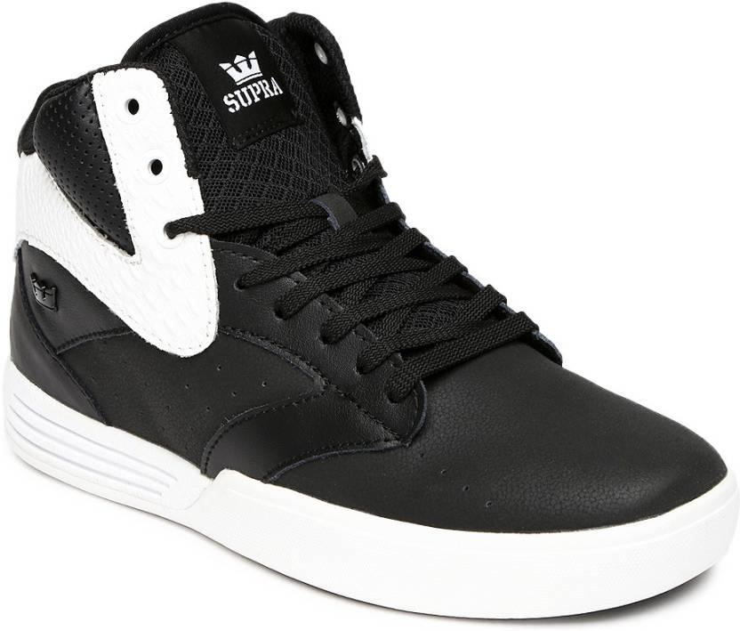 5cb2cde43f Supra Casual Shoes For Men - Buy Black Color Supra Casual Shoes For ...