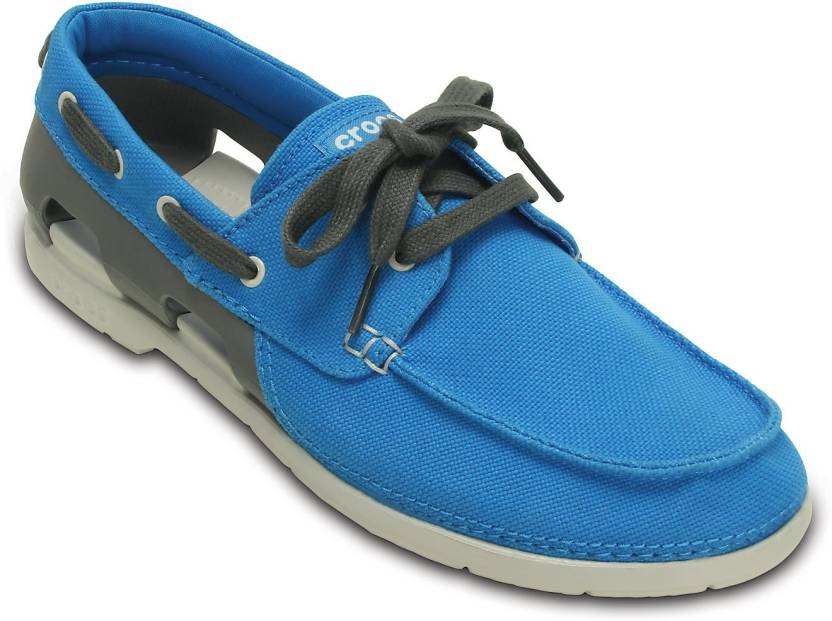 992a604770 Crocs Beach Line Lace-up M Boat Shoe For Men. Home · Footwear · Men's  Footwear