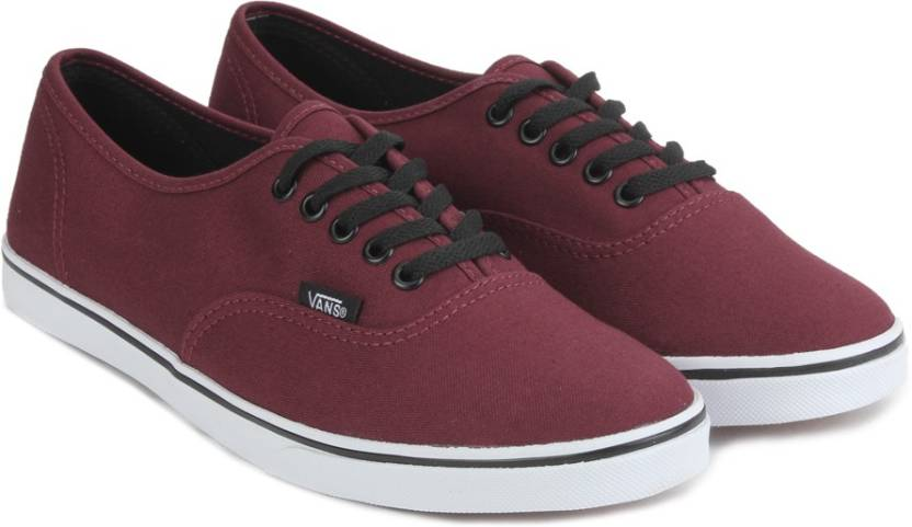 2cb49c38b80 Vans AUTHENTIC LO PRO Sneakers For Men - Buy TAWNY PORT TRUE WHITE ...