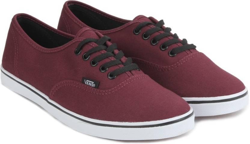 2a293734b5139c Vans AUTHENTIC LO PRO Sneakers For Men - Buy TAWNY PORT TRUE WHITE ...