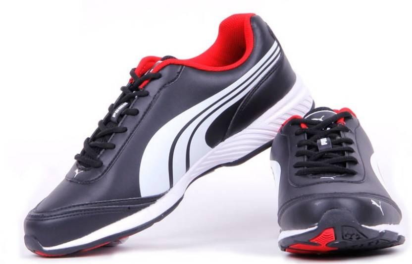 d2b8fbaceedb Puma Roadstar XT II DP Running Shoes For Men - Buy Black-White-High ...