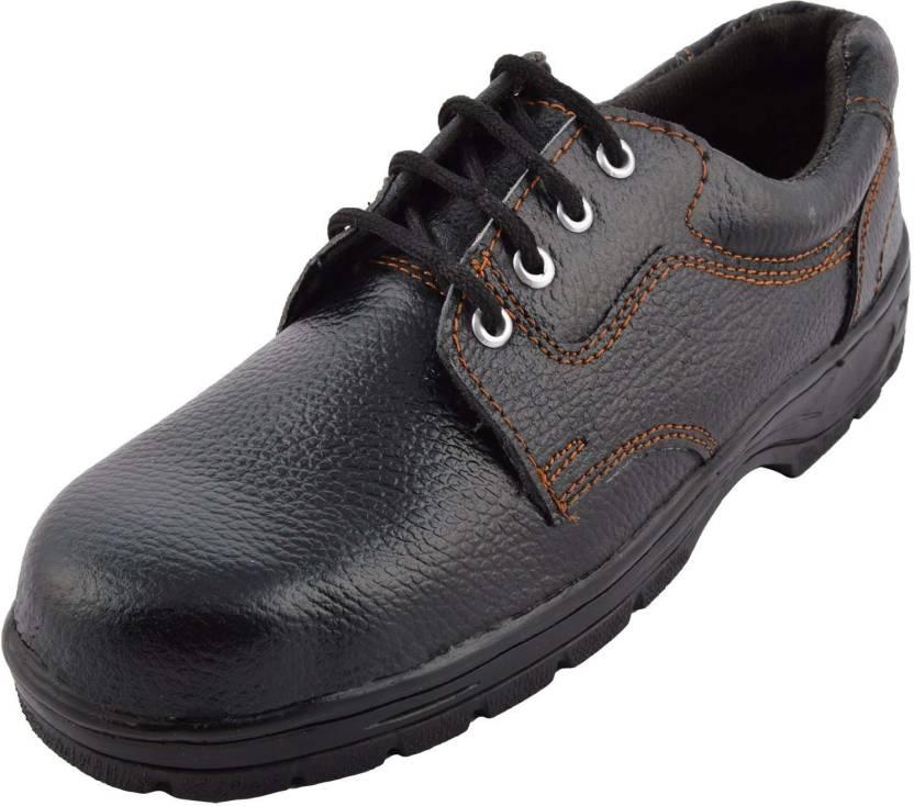 2cb2fc41f2c13 Steelite Champion SAFETY Lace Up Shoes For Men - Buy Black Color ...