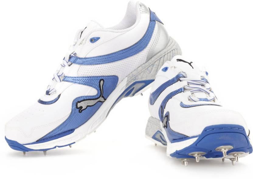fd01656e1ec3 Puma Iridium II Full Spike Cricket Shoes For Men - Buy White ...
