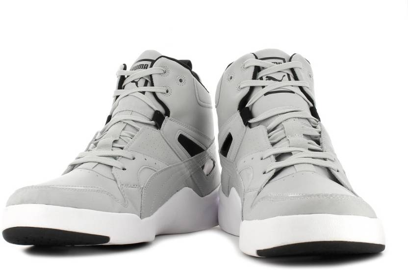 uk availability 29a73 98002 Puma Future Trinomic Slipstream Mid Sneakers For Men (Grey)