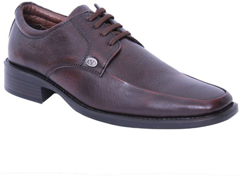 7b506412035ca Valentino T-Clark-55 Genuine Leather Lace Up Shoes For Men - Buy ...