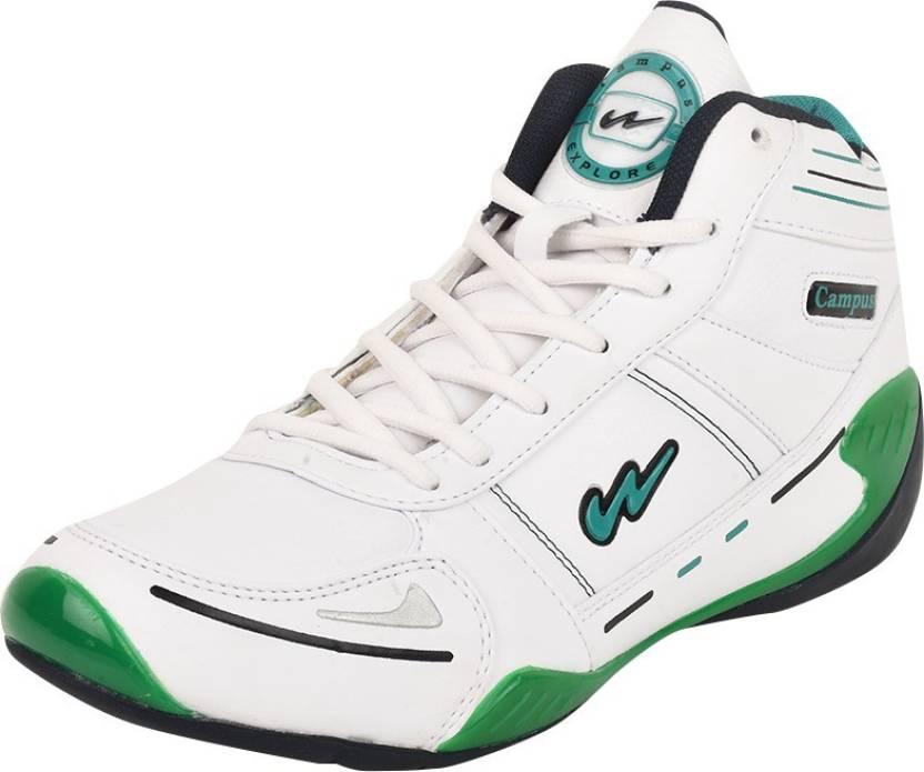 Campus EXPLORE Running Shoes For Men - Buy White-Blue Color Campus ... da452a871
