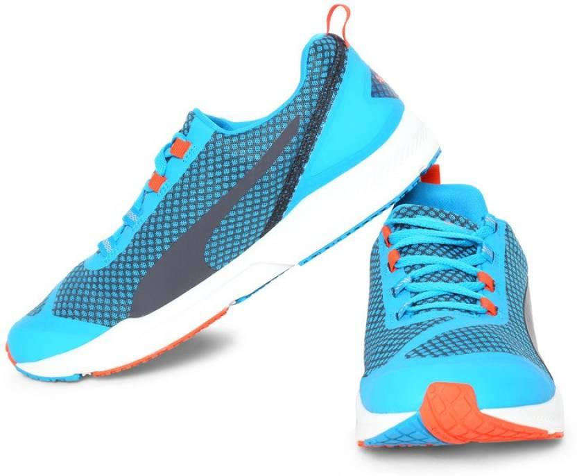 5214d0e0bb6 Puma IGNITE XT Core Running Shoes For Men - Buy Atomic Blue-Black ...