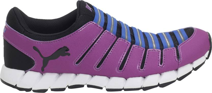 Puma Running Shoes For Women(Purple, Blue)