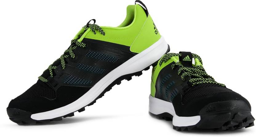 premium selection 18c87 d55f5 ADIDAS Kanadia 7 Tr M Running Shoes For Men (Black)