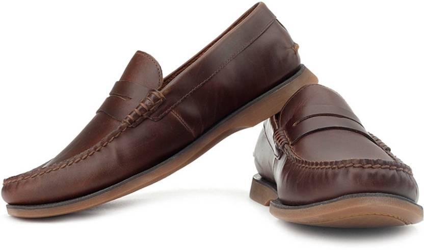 cbb980d00474a Clarks Quay Point Loafers For Men - Buy Mahogany Color Clarks Quay ...