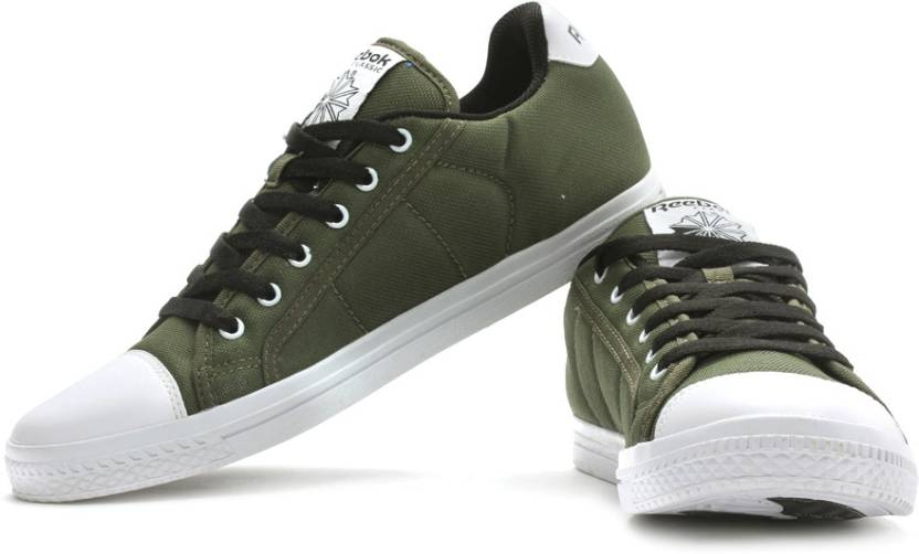c8123d00cfe6ac REEBOK On Court Iii Lp Canvas Shoes For Men - Buy Olive
