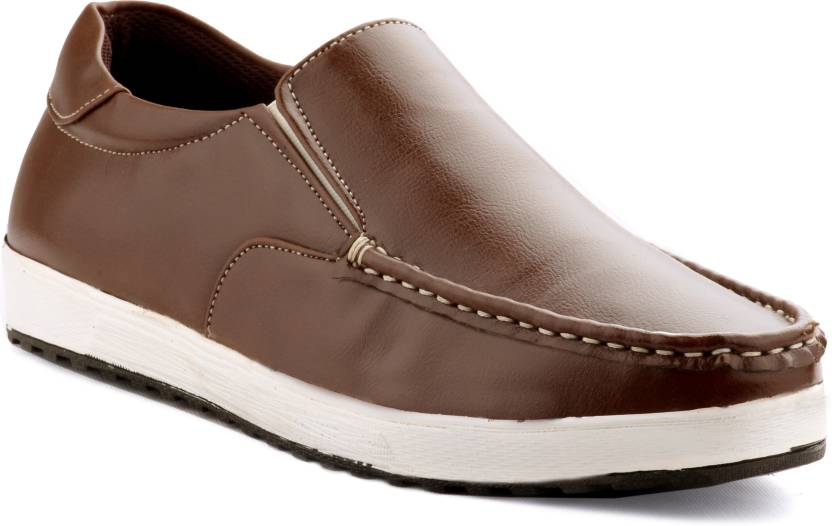 Zebra Men's Freelance Synthetic Leather Shoes. Loafers
