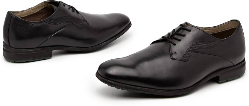 Clarks Gleeson Walk Derby Lace Up Shoes For Men - Buy Black Color ... 1ead83774fb6