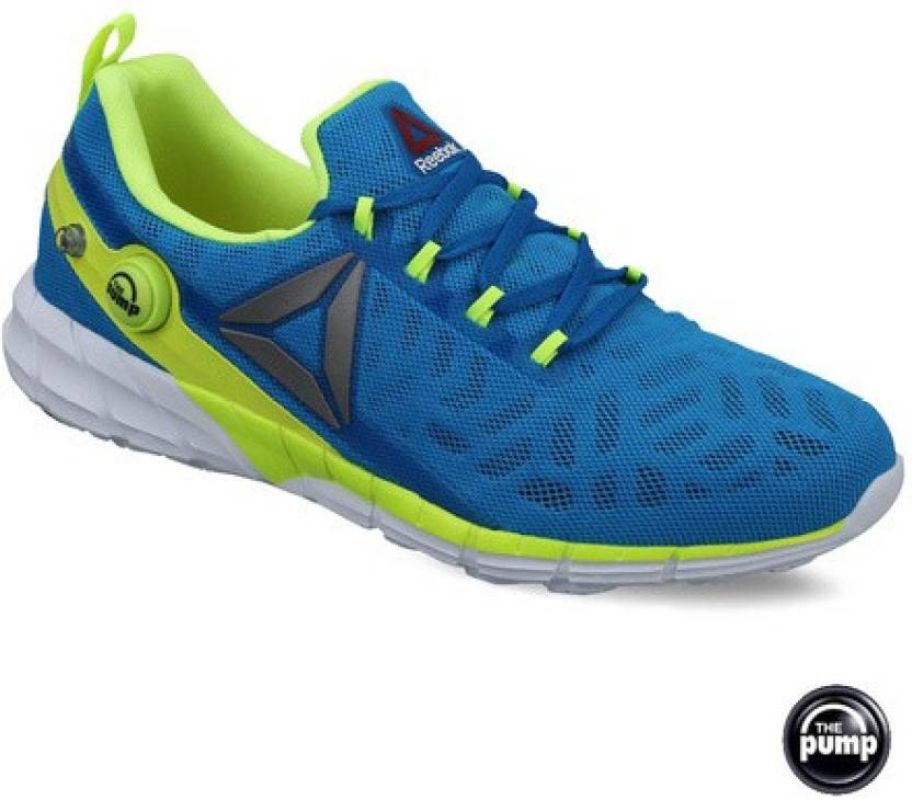 6ce4474d0130 REEBOK ZPUMP FUSION 2.5 Running Shoes For Men - Buy Blue Color ...